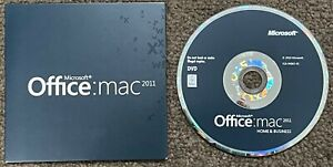 MS OFFICE MAC 2011 HOME & BUSINESS for Mac with DVD (1 User / 1 Mac)