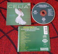 CELIA CRUZ Y LA SONORA MATANCERA ** La Incomparable ** RARE Venezuela 1991 CD