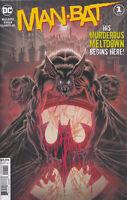MAN-BAT #1 (KYLE HOTZ VARIANT) COMIC BOOK ~ DC Comics