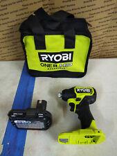 "Ryobi ONE+ HP 18V Compact Brushless 1/4"" Impact Driver Kit PSBID01K #9"