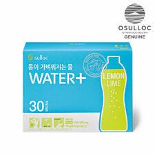 OSULLOC Water+ Healthy Slimming Drink Lemon Lime 2.6gx30sticks 1box made in KOR