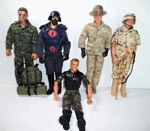 GI JOE LOT Action Figures with Accessories