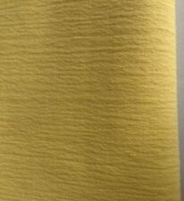 Yellow crepe effect fabric remnant (4-way stretch) Active/dance wear 603
