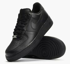 Nike Air Force 1 '07 Triple Black Trainers UK 10 **BNIB & UNUSED**
