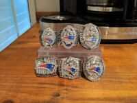 New England Patriots Superbowl Championship Set ALL 6 Rings - Made in NH USA