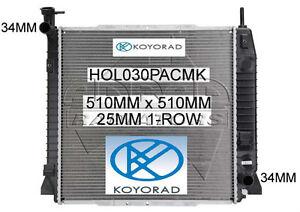 HOLDEN COLORADO RC 2008-2011 3.6ltr V6 PETROL MANUAL RADIATOR *KOYO QUALITY*