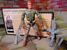 GI JOE ~ 2007 GRUNT ~ JOECON  CONVENTION ~ SQUAD LEADER TANKS FOR MEMORIES