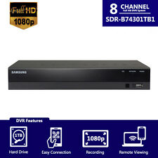 Samsung SDR-B74301 8 Ch Full HD 1080P cctv DVR w/1TB HDD Limited Time offer!!!!!
