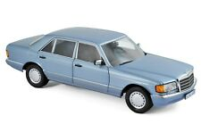 183464 NOREV 1 18 MERCEDES BENZ 560 SEL 1990 Perl Blue