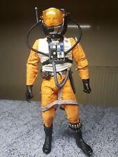 "1/6 scale Star Wars Rogue One Rebel X-wing pilot custom 12 "" figure with Helmet"