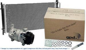 A/C Compressor-Compressor Kit with Cond New fits 14-19 Chrysler 300 3.6L-V6