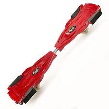 Premium Waveboard Flexboard aus Aluminium Surfing Skateboard Rot