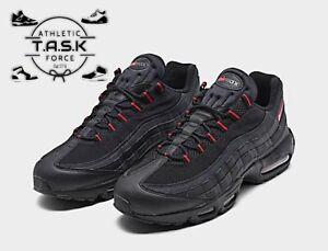 🔥RARE🔥 Nike Air Max 95 'Bred' Black / University Red Sz 11.5 DD7114-001 NEW DS