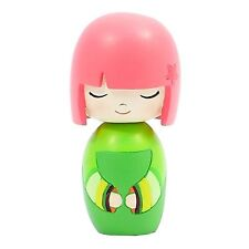 MOMIJI Doll - Green LUCKY   by Lili Bunny resin figure asian Secret Message