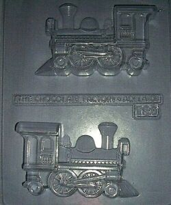 LARGE 3 DIMENSIONAL VINTAGE STEAM TRAIN  CHOCOLATE MOULD OR PLASTER MOULD
