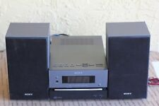 Sony CMT-BX1 CD, MP3 & AM/FM Receiver 2 Speakers  Excellent Condition