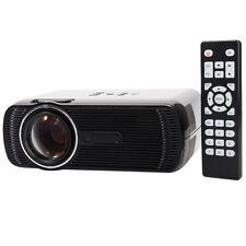 Portable Mini LED LCD Home Cinema Theater Projector 1080P HD HDMI AV USB VGA TV