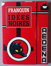 FRANQUIN   **  IDÉES NOIRES  **  PORTFOLIO AEDENA 16 CARTES POSTALES 1000 EX.