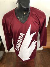 WOMENS Size 16  Hockey Jersey Team Canada 2010 Vancouver Olympics