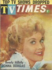 RARE 1964  DONNA DOUGLAS TV TIMES GUIDE MAGAZINE REGIONAL BEVERLY HILLBILLIES