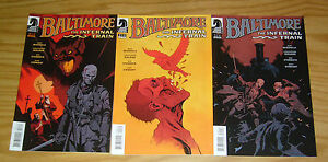 Baltimore: the Infernal Train #1-3 VF/NM complete series - mike mignola set 2