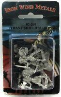 Ral Partha 02-209 Tyrant Shield Maidens [Random] (Fantasy Armies) Female Warrior