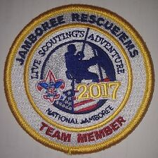 Jamboree Rescue/EMS Team Member Staff Patch 2017 National Boy Scout Jamboree