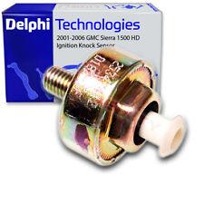 Delphi Ignition Knock Sensor for 2001-2006 GMC Sierra 1500 HD - Spark Plug og