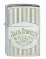 ZIPPO Feuerzeug 60001359 Jack Daniels classic Chrome brushed