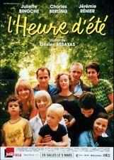 affiche du film HEURE D'ETE (L') 40x60 cm