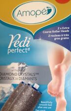 Amope Pedi Perfect Replacement Roller Heads 2 EXTRA COARSE