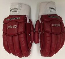 2017 Lorimers Platinum Maroon Pro Quality Batting Gloves Mens