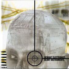 Deviant Electronics - Blunt Instruments - CD Album - DRUM & BASS BREAKBEAT
