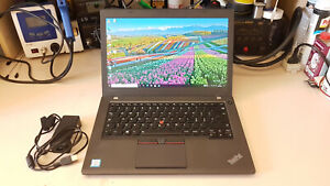 "Portatile Lenovo ThinkPad T460 14"" FHD Core i5-6200U 8Gb SSD 256Gb Windows 10"
