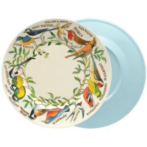 Emma Bridgewater Dinner Plate Melamine Birds Two-Tone 25cm Diameter