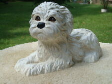 LHASA APSO DOG CUSTOM PAINTED CONCRETE/CEMENT STATUE TO MATCH YOUR DOG
