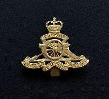QE2 Royal Artillery Cap Badge