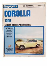 Gregorys Toyota Corolla 1200 1970-1976 Service and Repair Manual