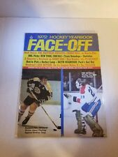 1972 Hockey Face-Off Yearbook - Phil Esposito and Ken Dryden Cover