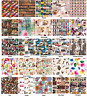 Digital Printed Cotton Designer Upholstery Curtains Cushions Blinds Fun Fabric