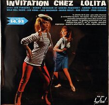 "LES FINGERS + DIVERS ""INVITATION CHEZ LOLITA"" SURPRISE PARTY 60' LP FESTIVAL 297"