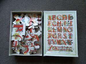 KS1 Alphabet Jigsaw Puzzle 30pcs (1986 Artlines) - Complete