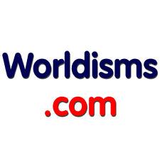 Worldisms.com - Worldisms / One Word Domain, Reg 2012