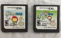 Nintendo DS 2 Games Super ScribbleNauts and ScribbleNauts Game Cartridges Only