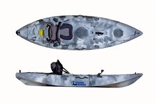 SIT ON TOP GALAXY CRUZ KAYAK NEW MODEL WITH FREE TROLLEY - SILVER CAMOUFLAGE