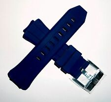 Authentic TechnoMarine Silicone Watch Strap Band for 45mm Cruise Dark Blue - NEW