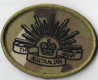 Army Australian Multicam Rising Sun Patch