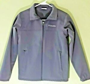Columbia sportswear company jacket Solid Gray size large child or small woman