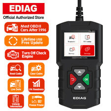 EDIAG YA201 OBD2 Scanner Mode 6 Mode 8 Live Data Automotive Engine Fault Creader