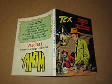 TEX N°186 PRIMA EDIZIONE  AUT 2926 L'UOMO DAI CENTO VOLTI APRILE 1976